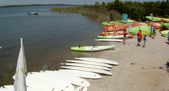 Fenwick Island, DE: Great stand up paddle day