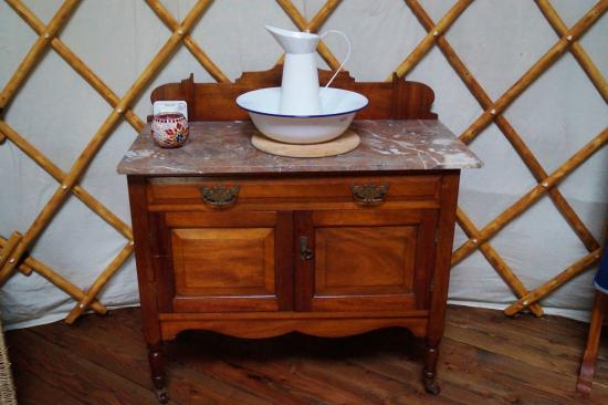 Swallowtails: Beautiful Furniture Inside The Yurt