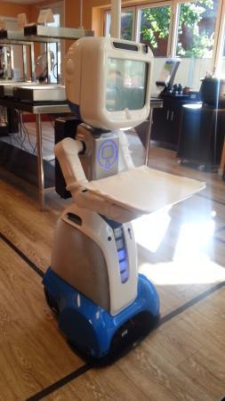 robot restaurang lidköping