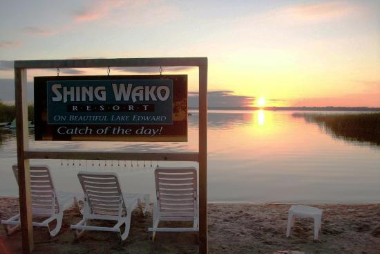 Merrifield, MN: Shing Wako Resort on Lake Edward