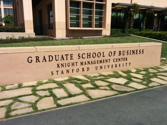 Palo Alto, CA: GSBのエントランス
