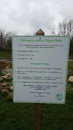 Monticello, IN: rules of park