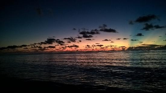 Chalets d'Anse Forbans: Sunrise