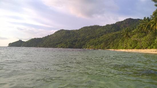 Chalets d'Anse Forbans: Beach