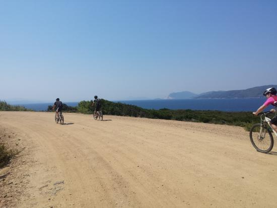Ciudad de Skiathos, Grecia: Typical trails