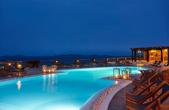 Rocabella Mykonos Art Hotel & SPA: Pool