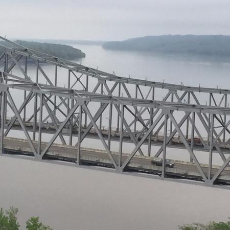 Natchez, MS: Bridge looking north