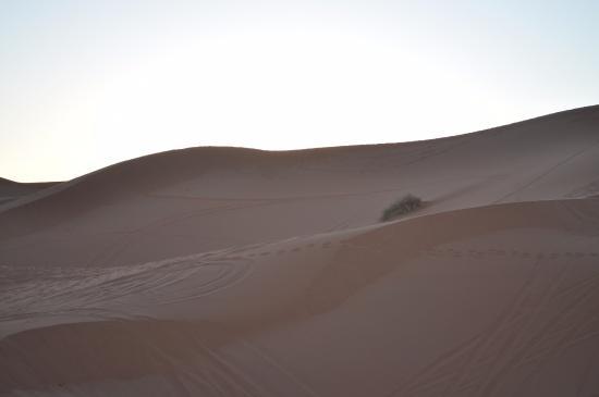 Merzouga, Marruecos: miles and miles of desert