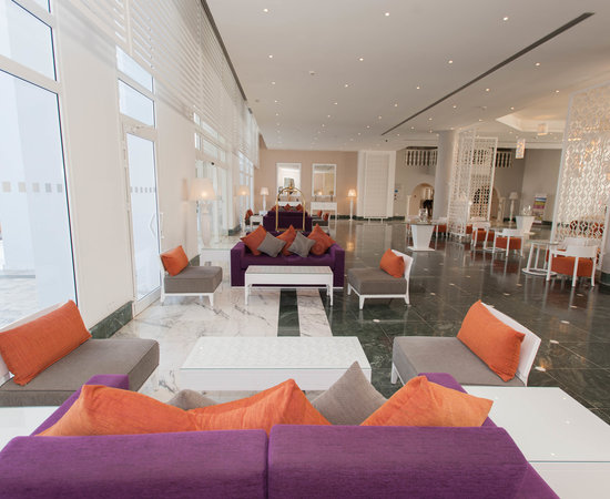 Lobby at the Radisson Blu Resort & Thalasso