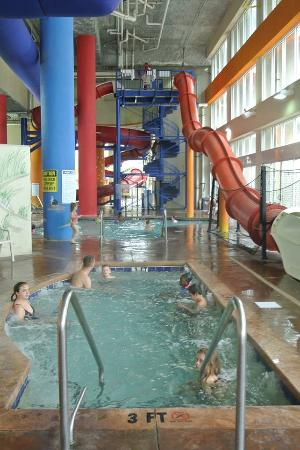 Part Of One Indoor Water Park Picture Dunes Village
