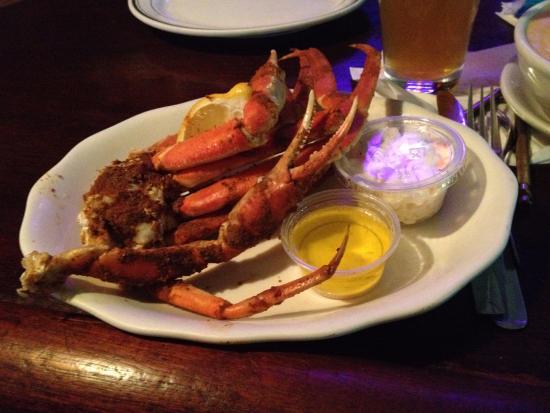 Thorofare, Nueva Jersey: Crab legs perfectly prepared.