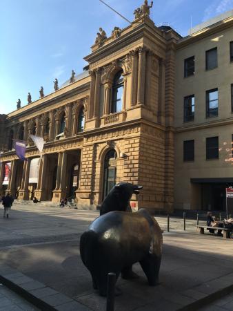 Schillerpassage Frankfurt außenansicht picture of stock exchange borse frankfurt