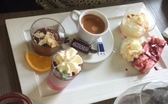 Quetigny, Γαλλία: Café Gourmand
