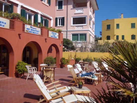 Hotel B B Miramare A Varigotti Bellissima Terrazza