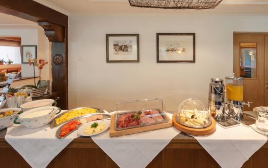 Alpenhotel Zimba: Frühstücksbuffet