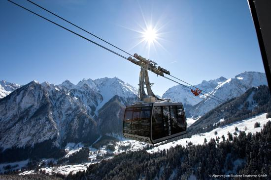 Alpenhotel Zimba: Panoramabahn Brandnertal