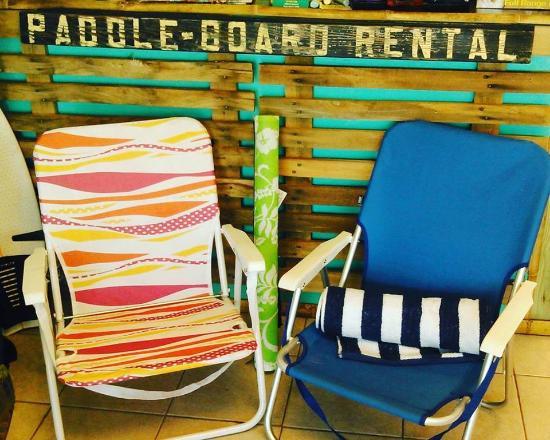 beach chairs picture of mad beach surf shack madeira beach rh tripadvisor com