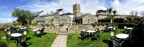 Zennor, UK: Wonderful Garden at The Tinners