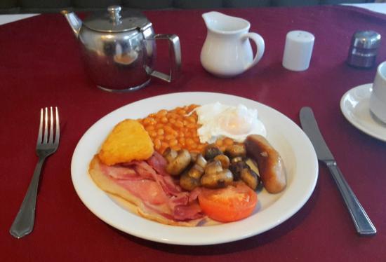 Street, UK: Breakfast