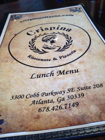 Crispina Italian Restaurant Atlanta