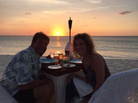 Sunset Dinner At Passions Eagle Beach Aruba Picture