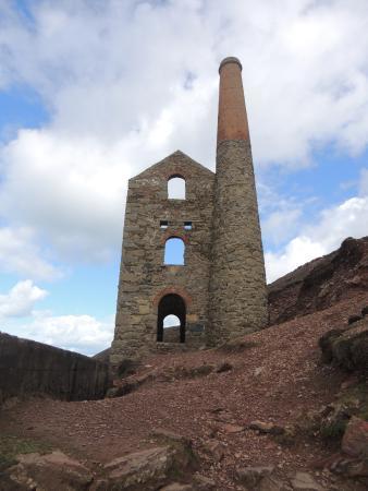 Pendoggett, UK: Wheal Coates , on the Poldark and North coast tour.