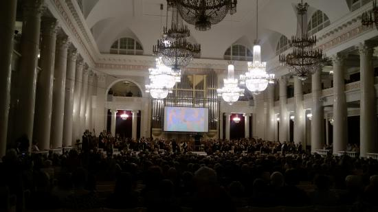 Grand Hall of St. Petersburg Academic Philharmonic Society: Большой зал Филармонии