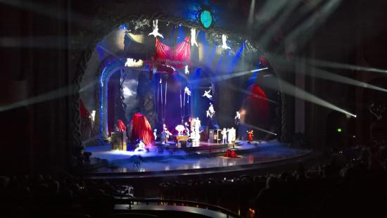 Incredible Acrobatics Picture Of Zarkana Cirque Du Soleil Las