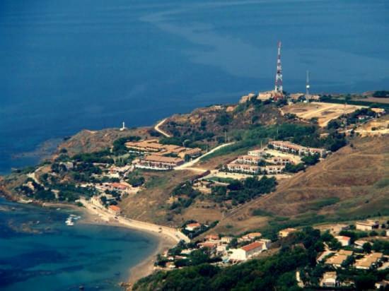 Residence Capo San Marco & Renella: Vista aerea