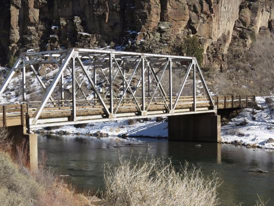 Arroyo Hondo, NM: Dunn Bridge