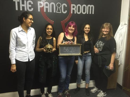 We only just got out! - Picture of The Panic Room, Gravesend ...