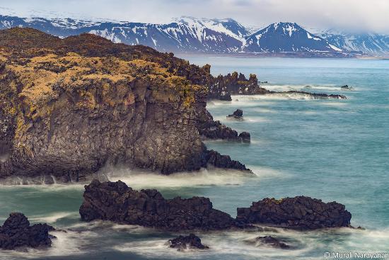 Rock Formations at Hellnar