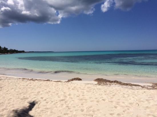 Playa Tao Beach Club & Restaurant: Turquoise waters off Playa Tao