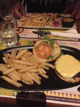 Côté Jardin : hamburger