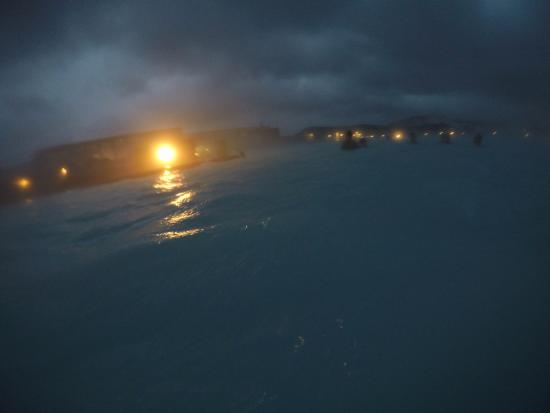 Grindavik, Island: Blue Lagoon de noite