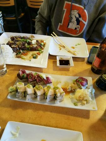 Iwayama Sushi and da big kahuna bistro