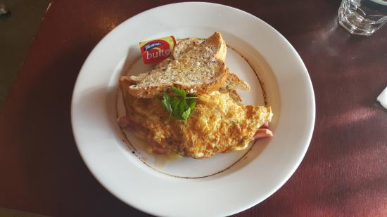 Twizel, Nya Zeeland: Egg omelette