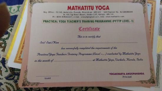 Mathatitu Yoga Ashram