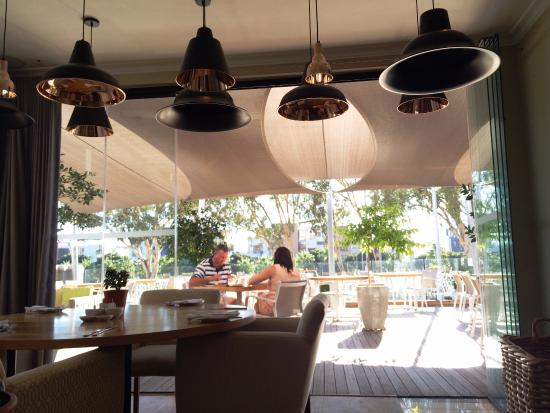 looking from inside marc s table out to the covered patio picture rh tripadvisor co uk
