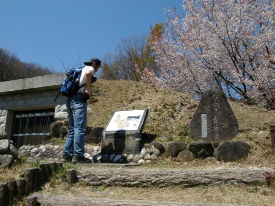 Nijozan: 大池公園にある古墳