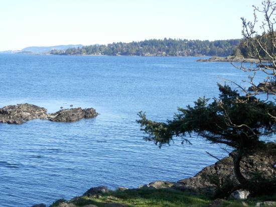 Nanoose Bay, Canada: view from point