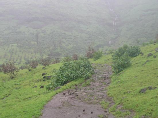 Igatpuri, Índia: The way to the big waterfall