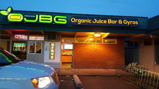 Organic Juice Bar & Gyros - OJBG