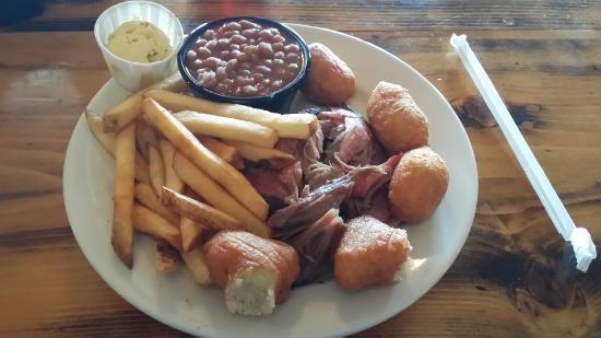 Carthage, Carolina del Norte: Not much meat, unfortunately.