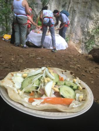 Ian Anderson's Caves Branch Jungle Lodge: Meal time at Caves Branch is an exceptional experience, redefining freshness!