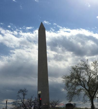 ‪منطقة كولومبيا: Washington Monument March 2016‬