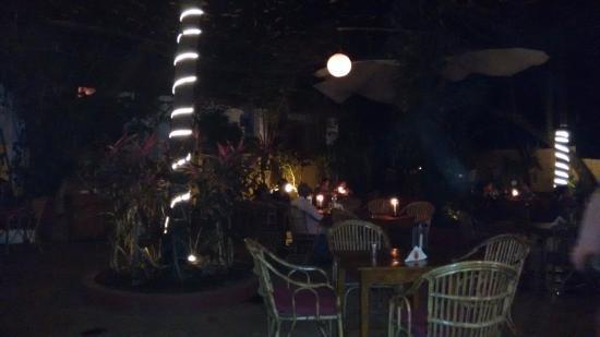 Anjuna, Indien: Seating Area