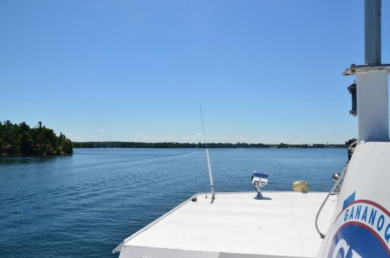 Gananoque, Canada: View from Ferry