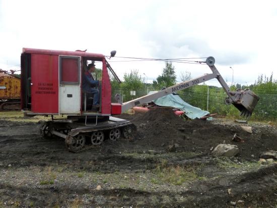 Ludvika, สวีเดน: Åkerman 300 lingrävare