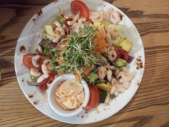 The Cricketers Arms: Our salade